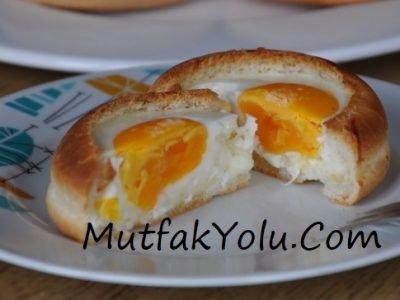 Kahvaltılık Yumurtalı Ekmek Tarifi