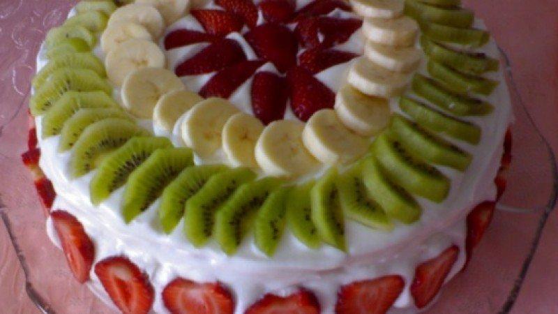 Ev Yapımı Doğum Günü Pastası